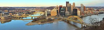 Photograph - Soft Light Over Pittsburgh by Adam Jewell