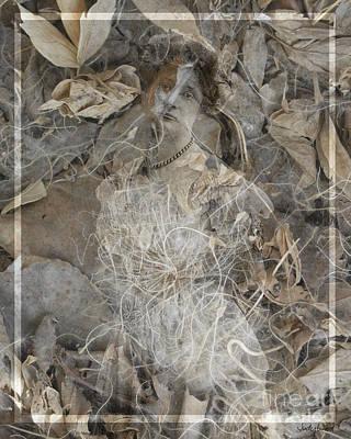 Edwardian Woman Digital Art - Soft Mystery by Judy Wood