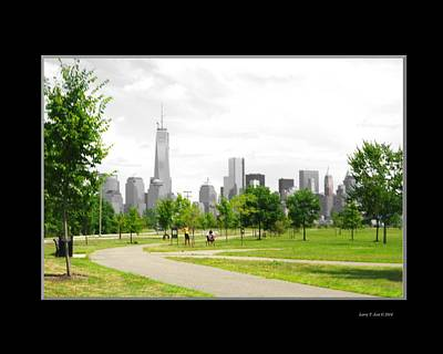 Nyc Photograph - Soft - New York City  From The Park by Larry Jost