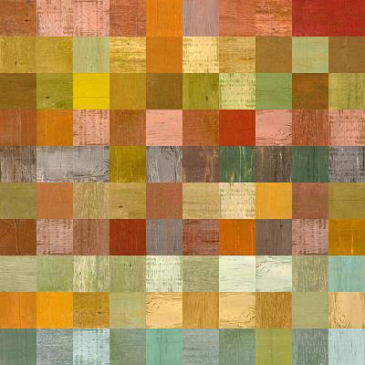 Painting - Soft Palette Rustic Wood Series Lll by Michelle Calkins