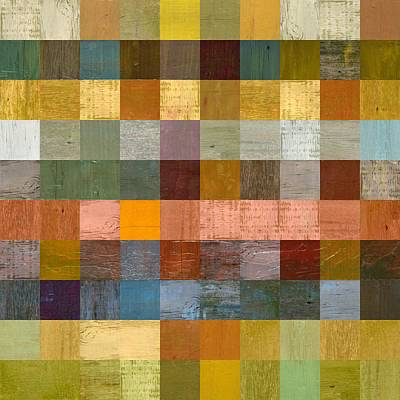 Painting - Soft Palette Rustic Wood Series Lv  by Michelle Calkins
