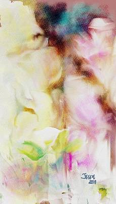 Painting - Soft Petals by Jessica Wright