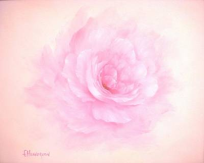 Painting - Soft Pink Rose by Francine Henderson