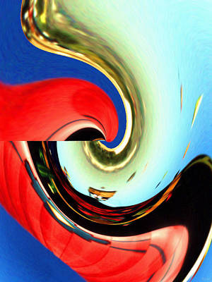 Painting - Soft Reflection - Abstract Art by Art America Gallery Peter Potter