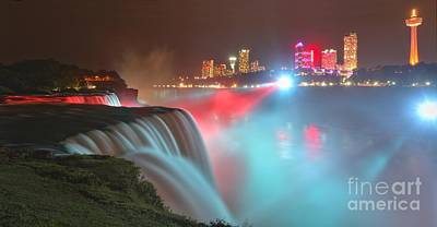 Photograph - Soft Serve Niagara Falls by Adam Jewell