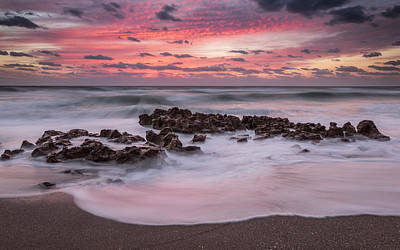 Soft Sunrise Art Print by Mike Lang