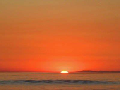 San Clemente State Beach Photograph - Soft Sunset by James Knight