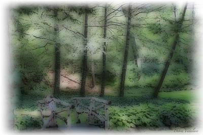 Photograph - Soft Touch 6 Landscape by Debra     Vatalaro