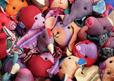 Photograph - Soft Toys 02 by Rick Piper Photography