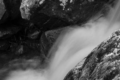 Photograph - Soft Waterfall by Nathan Hillis