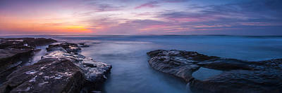 Widescreen Photograph - Soft Waters by Peter Tellone