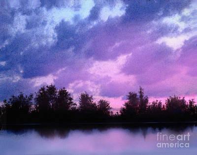 Soft Waters Art Print by Robert Foster