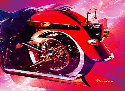 Photograph - Softail Harley by Sadie Reneau