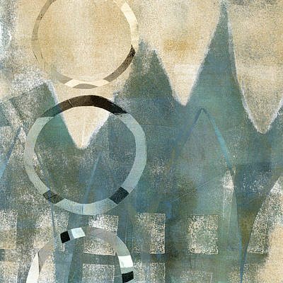 Soft Mixed Media - Softly Faded by Carol Leigh
