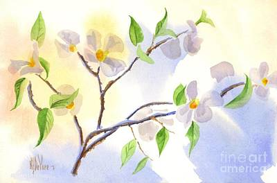 Painting - Softly Missouri Dogwood II by Kip DeVore