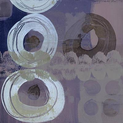 Softly Purple Art Print