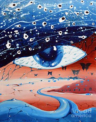 Painting - Sogno  by Alice Alicja Cieliczka