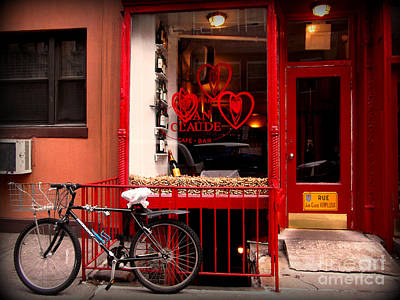Photograph - Soho Bicycle by Miriam Danar