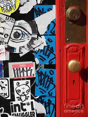 Photograph - Soho Door by Miriam Danar