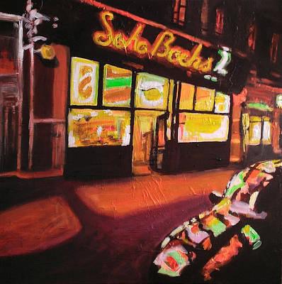City Painting - Soho Night by Paul Mitchell