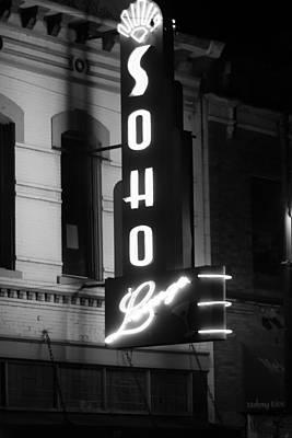 Soho Sign In Austin Art Print