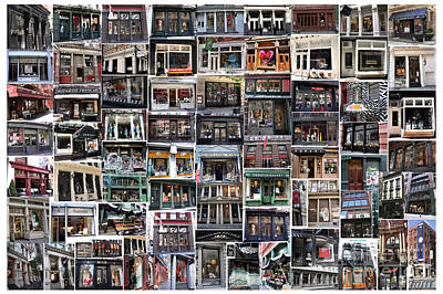 Photograph - Soho Storefronts Collage by Steven Spak