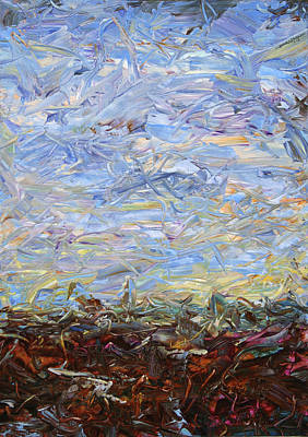 Painting - Soil Tumoil 2 by James W Johnson