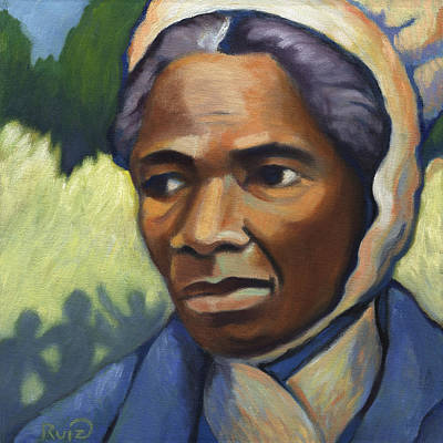 Painting - Sojourner Truth by Linda Ruiz-Lozito