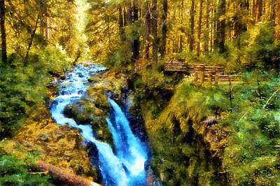 Digital Art - Sol Duc Valley by Kaylee Mason