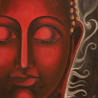 Liberation Painting - Solace by Priyami Kotadia