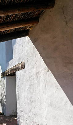 Photograph - Solano Mission Doorway by Michele Myers