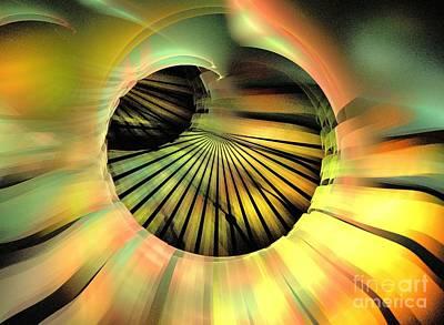 Kim Digital Art - Solar Cell by Kim Sy Ok