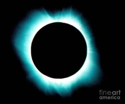 Photograph - Solar Corona by Jon Burch Photography