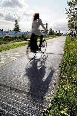 Solar Cycle Path Art Print