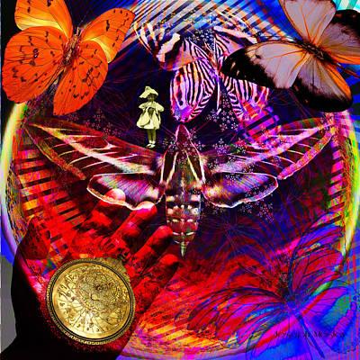 Solar Power Digital Art - Solar Dimensions by Joseph Mosley