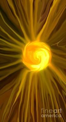 Solar Power Digital Art - Solar Energy by Chris Butler