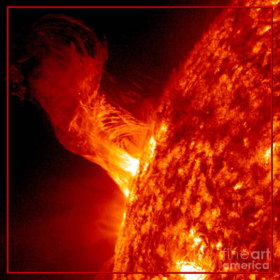 Photograph - Solar Eruption by Rose Santuci-Sofranko