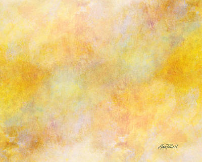 Painting - Solar Heat Abstract Art by Ann Powell