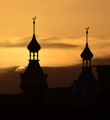 Photograph - Solar Minarets by David Lee Thompson