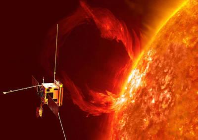 Solar Orbiter Art Print by Science Source