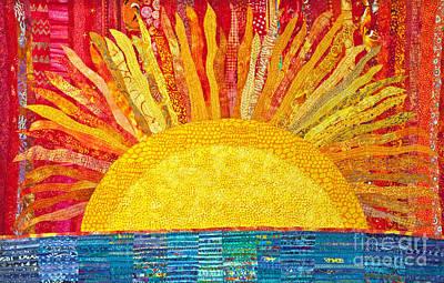 Painting - Solar Rhythms by Susan Rienzo