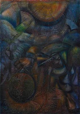 Solar System Art Print by Fernando Alvarez