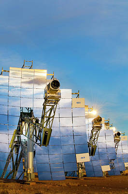 Production Photograph - Solar Test Facility by Sandia National Laboratories