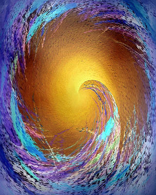 Photograph - Solar Wave by Jodie Marie Anne Richardson Traugott          aka jm-ART