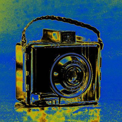 Brownie Photograph - Solarized Brownie by Jon Woodhams