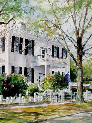 Painting - Sold Lafayette House by Gloria Turner