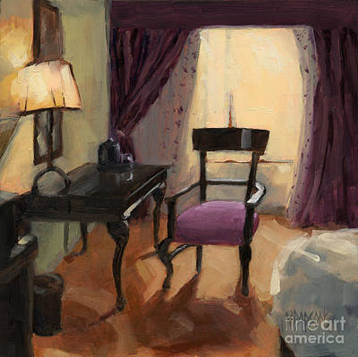 Painting - Sold - Room Service  by Nancy  Parsons
