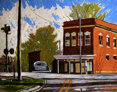 Indiana Landscapes Painting - Sold Where The Soldiers Come From by Charlie Spear
