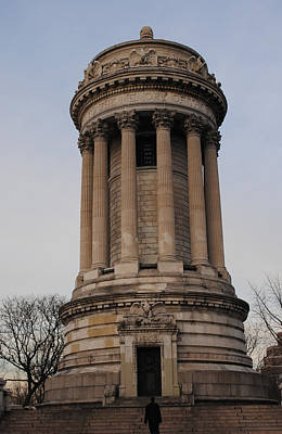 Photograph - Soldiers And Sailors Monument by Robert  Moss