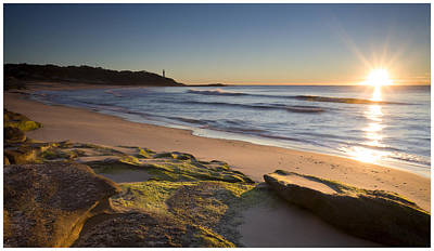 Photograph - Soldiers Beach by Steve Caldwell
